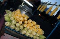 Bắp Nướng Mỡ Hành - Grilled Sweetcorn On The Cob With Onion Sauce